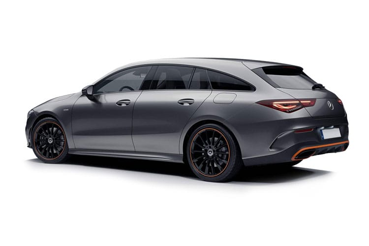 Mercedes-Benz CLA CLA250e Shooting Brake 1.3 PiH 15.6kWh 218PS AMG Line Premium 5Dr 8G-DCT [Start Stop] back view