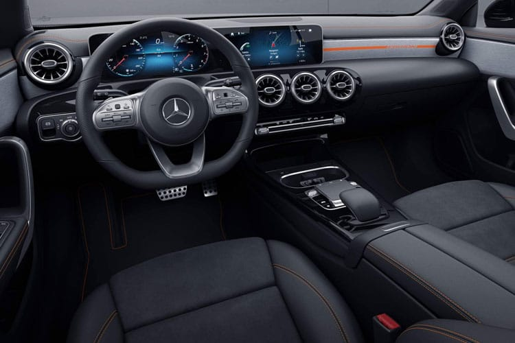 Mercedes-Benz CLA CLA250e Shooting Brake 1.3 PiH 15.6kWh 218PS AMG Line Premium 5Dr 8G-DCT [Start Stop] inside view